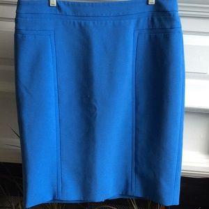 Whitehouse/BlackMarket Skirt Nice Blue Color